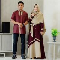 ARU CouPle SAMAWA JUMBO big maxi kemeja pakaian muslim wanita pria