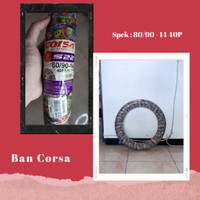 BAN MOTOR 80/90/14 40P TUBE TYPE - CORSA S22