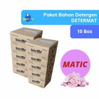 Bahan Sabun Cuci Cair Laundry Rendah Busa (Matic) Determat Grosir 10