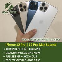 iPhone 12 Pro / 12 Pro Max 128GB 256GB 512GB Bekas Fullset Second Ori