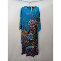 daster batik kencana ungu/tangan panjang/lengan panjang/gamis batik