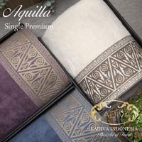 Parsel Ramadan Gift Boxset Handuk Single AQUILLA with BORDIR (Premium) - Ungu