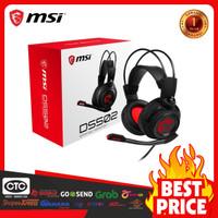 Headset Gaming MSI DS502 - DS 502 - Headphone dan Mikrofon