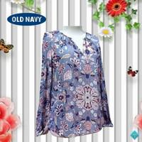 Blouse Formal Baju Wanita Branded OLD NAVY