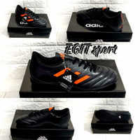 SEPATU FUTSAL ADIDAS #2 - Black Orange, 39