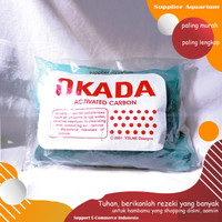 Arang Karang Aktif OKADA Carbon Media Filter Kolam Aquarium KOI Suppli