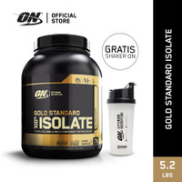 Optimum Nutrition Gold Standard Isolate Protein 5.2lbs -Rich Vanilla