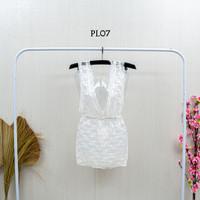 Baju Tidur Dress Sleep Wear Sexy Lingerie Premium Gown Lace Wnita PL07