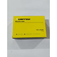 United Ban dalam 700 x 23c 25c 28c pentil FV 60 mm sepeda fixie RB