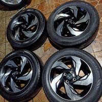 velg OEM original Mobilio RS ring 15 ban Dunlop 185/65 R15