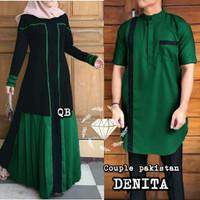 Baju Gamis Dress Syari Wanita Muslim Couple Pakistan Denita