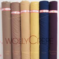 HijabersTex 1/2 Meter Kain WOLLYCREPE CALTRI Premium (Part 2)