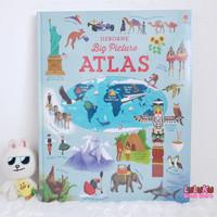 Buku Edukasi Anak Import - Usborne Big Picture Atlas