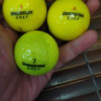 Bola golf Bridgestone warna warni mix
