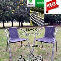 Kursi Teras Taman dan Outdoor Besi Hot Sale 2 Kursi