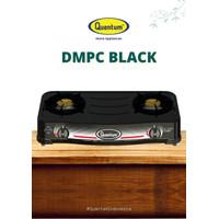 Kompor Gas Quantum 2 Tungku QGC - 201 DMPC Black