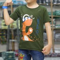 Baju kaos anak LAKI LAKI Perempuan Gambar Hewan DINOSAURUS MONSTER