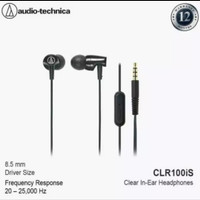 ATH-CLR100IS BLACK witch mic - audiotechnica
