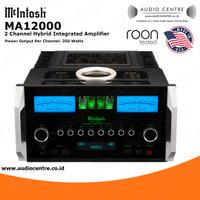 Mcintosh MA12000 MA 12000 2 Channel Hybrid Integrated Amplifier