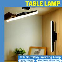 LAMPU MEJA BELAJAR LED MULTIFUNGSI RECHARGEBLE MAGNETIC LAMP DIMMABLE