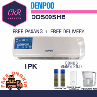 AC Air Conditioner Denpoo DDS 09 SHB 1 PK - PIPA-0,5MM