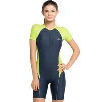 Opelon Pakaian Renang Wanita - Diving Suit Grey Indigo