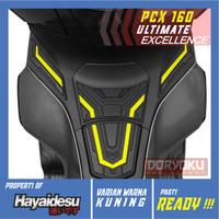 Tank pad Cover Pcx 160/Hayaidesu/Rubber Karet/Aksesoris Honda