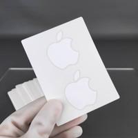 Sticker Apple original Bawaan dari MacBook iPhone ipad ipod