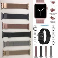 Strap Apple Watch Milanese Loop Iwatch IWO 1 2 3 4 5 42mm 38mm 40mm 44