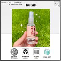 Butuh Deodorant Spray 60 ml Free Pouch & Masker Organik