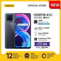 HP realme 8 Pro 8/128 [108MP Quad Camera, 50W Charge, NFC] - Infinite Black
