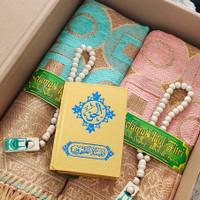 Parcel souvenir sajadah lebaran idul fitri paket couple