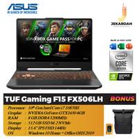 Asus TUF Gaming F15 FX506LH 144Hz i7 10870H 8GB 512GB SSD GTX1650 4GB