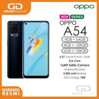 OPPO A54 4GB RAM 64GB ROM Garansi Resmi
