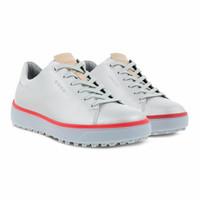 Sepatu golf Ecco women tray laced Original leather