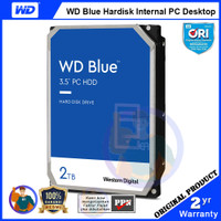 WD Blue 2TB Hardisk PC - 7200RPM 256MB Cache - WD20EZBX