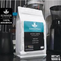 Kopi Arabika Aceh Gayo 1KG | Summerfield Premium Coffee - BIJI KOPI, MEDIUM DARK