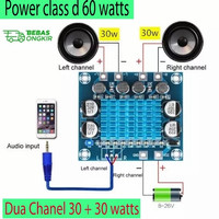 Power Class d Amplifier Audio Stereo Digital Daya 30w+30 watts