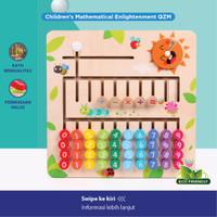 Belajar Berhitung Anak / Board Game Puzzle Kayu / Mainan Edukasi Anak