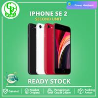 Apple iPhone SE 2 2020 256GB 128GB 64GB Black White Second Original