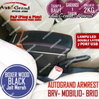 ARMREST / CONSOLE BOX BRV MOBILIO BRIO KONSOL USB