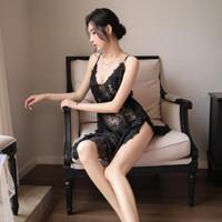 SEXY LINGERIE BAJU TIDUR WANITA DEWASA1070 - Hitam