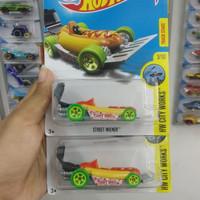 Hot Wheels Street Wiener HOT DOG HW Hotwheels Mobil Makanan