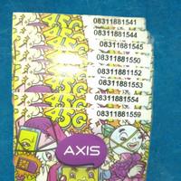 Perdana axis 11 digit murah