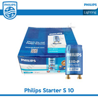 PHILIPS STARTER S10 STATER S 10 S-10 4 - 65w Buat Lampu TL 10w 18w 36W