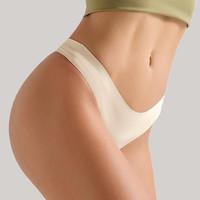 miniletics Subtle Seamless Thong Celana Dalam Wanita - White, M