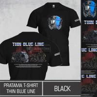 Kaos Tactical Pratama T-Shirt Thin Blue Line