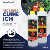 Aquapharm Cure Ich Repack 60ml   Obat White Spot Ikan Hias Laut