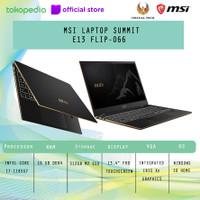 MSI LAPTOP SUMMIT E13 FLIP-066 i7-1185G7 16GB 512GB UMA W10 TOUCH