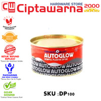 Dempul AUTOGLOW DP 100 1KG tahan panas DP100 Palembang